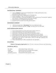 sample resume for dot net developer experience 2 years pl sql developer resume 3 years experience free resume example resume inside etl developer etl informatica by pcherukumalla with etl developer