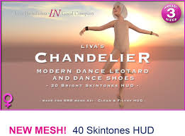 Chandelier Dance Second Life Marketplace Chandelier Modern Dance Leotard