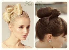 hair bow with hair side bow hairstyle step by hair