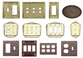 custom light switch covers vintage switch plate covers custom reproduction lighting art deco