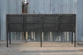 combine 9 industrial furniture u2013 industrial steel buffet u2013 hutch