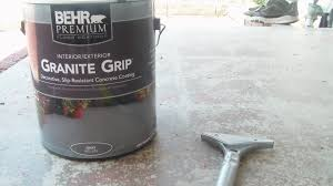 home depot review behr granite grip youtube
