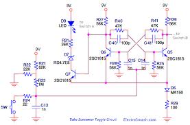 electrosmash tube screamer circuit analysis