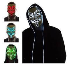 v for vendetta costume jennis light up led mask v for vendetta anonymous fawkes costume