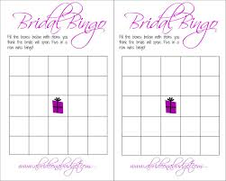 bridal bingo and a free printable a bride on a budget