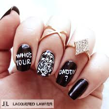 who u0027s your daddy nail art blog darth vader and star wars nails