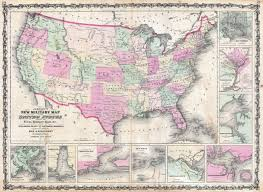 Map Of Southern States File 1862 Johnson Military Map Of The United States Civil War