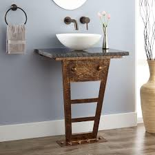 Bathroom Vanity Bases by Home Bathroom Zhi Wall Mount Console Vanity For Vessel Sink