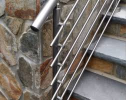 metal stair railing etsy