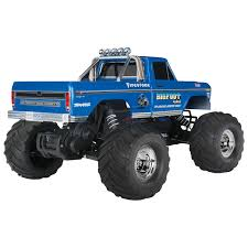 remote control bigfoot monster truck traxxas bigfoot no 1 2wd 1 10 scale rc truck 36034 1 blue rc
