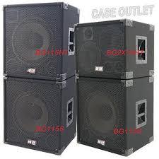 case outlet speaker cabinets greg s pro audio 1x15 bass guitar speaker empty cabinet black