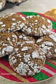 low carb thanksgiving food holiday cookie recipes low carb chocolate crinkle cookies