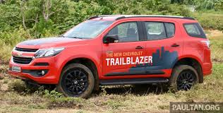 chevrolet trailblazer facelift being looked at for malaysia trax