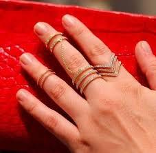 double knuckle rings images Knuckle midi rings anne sisteron jpg