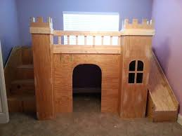 Bunk Bed Castle Castle Bed Castle Loft Bunk Bed With Slide House Of