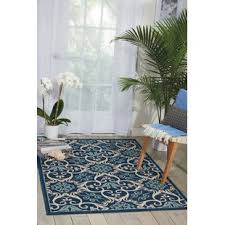 Blue And Green Outdoor Rug 4 X 6 Outdoor Rugs You Ll Wayfair