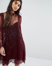 free people deco lace dress