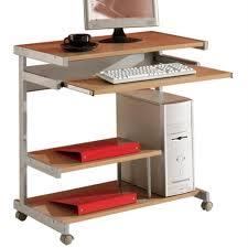 Pc Schreibtisch Mit Aufsatz Computertisch Mit Rollen Günstig Online Kaufen Real De
