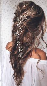 wedding hair accessories 20 wedding hairstyles with exquisite headpieces wavy