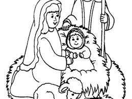 the birth of jesus coloring pages baby jesus manger coloring page
