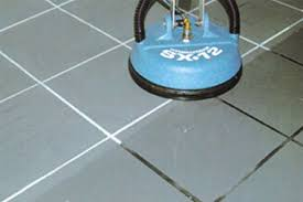 steam clean tile floor