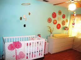bedroom diy white wood nursery design monochromatic pattern pink