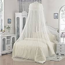 Lace Bed Canopy Summer Insect Prevention White Lace Bed Canopy Dome