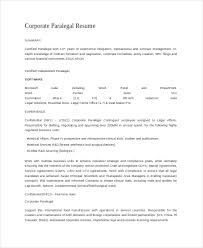 Medical Affairs Resume 9 Paralegal Resumes Free Sample Example Format Free