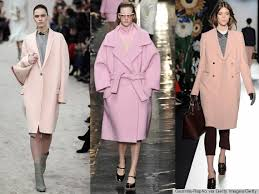 light pink wool coat the pink coat from the runway i m coveting and the high street