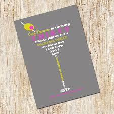 example martini cocktail party invitation card design idea with