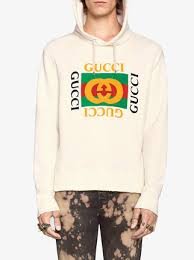 gucci gucci print hooded sweatshirt 1 200 buy ss17 online
