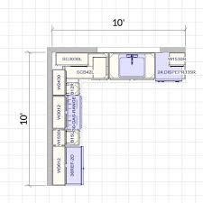 10x10 kitchen floor plans best kitchen designs