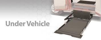 under vehicle wheelchair lift braunability