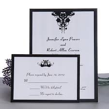 and black wedding invitations flat wedding invitations online cheap flat wedding card uk