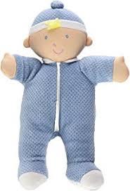 manhattan baby stella boy soft baby doll for