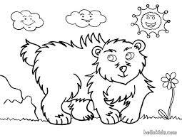 kodiak bear coloring pages hellokids