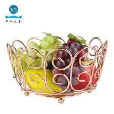 metal fruit basket heart series metal fruit basket holder kitchen dining table