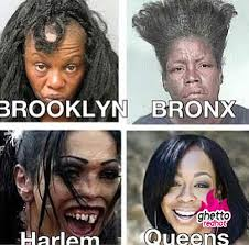 Brooklyn Meme - queens forever ghetto red hot