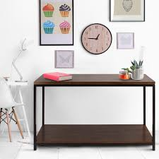 casual home metro mocha console table 694 64 the home depot