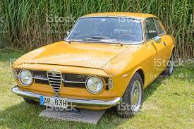 alfa romeo giulia sprint gt veloce italian 1960s sports car stock