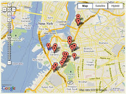 g00gle map java how to set several specific locations in map