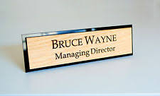 Personalized Desk Name Plates Personalised Home Décor Desk Name Plates Ebay