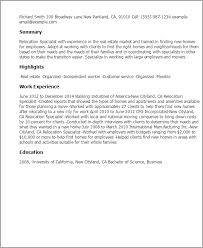 cover letter relocation 10 relocation cover letter examples for resume writing resume