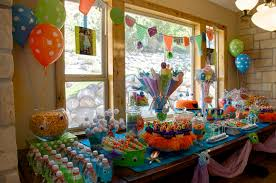 Simple Birthday Decorations At Home by Simple Birthday Party Ideas For 7 Year Old Boy Train Party For A
