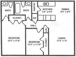floor plans park place apartments u2013 pearland texas