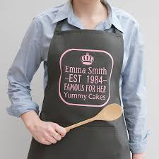 cool personalized kitchen apron home design new fresh with
