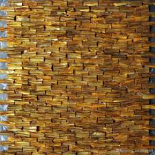 2017 wholesale mesh mounted mother of pearl 3d brick shell mosaic