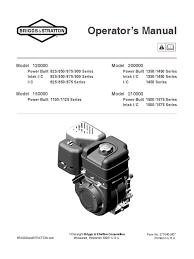 briggs u0026 stratton engine manual baja gasoline carburetor