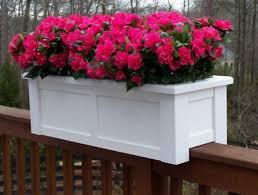 deck planters for balcony railings balcony railing pots deck