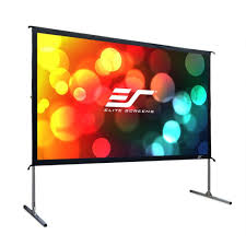 backyard theater system 9 foot outdoor entertainment system w